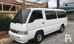 Nissan urvan shuttle 2014 Year 32,000 km mileage 0.0L Engine Diesel Fuel Manual transmission Front Wheel Drive MILEAGE:36,+++KM ENDING PLATE:0 Fresh in and out (Showroom Condition) Good running condition Well maintained Mag wheels Intact interior Fuel