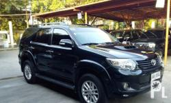Toyota Fortuner 2014 Automatic V Used for sale. The Toyota Fortuner runs on Diesel and has a promo price of PHP 150000. You will be hard pressed to find better value for your money elsewhere. This is a bargain you cannot afford to miss, so get in touch