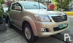 2014 Toyota Hilux G D4D Diesel Engine Smooth and Shiny Body Original Paint No Repaint No Retouch Fresh and Neat Interior All Power All Working Keyless Entry Rain Visor Fog Lamps Good Engine Condition Long Drive Tested No Overheating Smooth Running Good