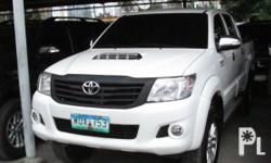Toyota Hilux G 4x4 2014 Year 142,000 km mileage 0.0L Engine Diesel Fuel Manual transmission 4x4 Cloth interior Aircon Airbags Power steering Electric windows Immobilizer Central lock Alarm CD+Mp3 audio system Good condition, Very fresh, All original