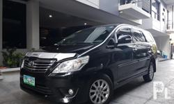 2014 Toyota Innova G diesel 1st owned automatic transmission all power original paint very fresh  like new