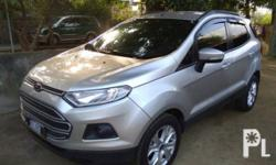 Ford EcoSport 2015 Year 90,172 km mileage 1.5L Engine Gas Fuel Automatic transmission Ford EcoSport 2015 Series: EcoSport 5DR TR Body Type: Wagon Gasoline Automatic Running good condition