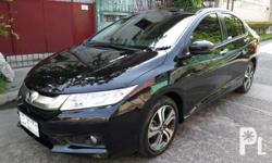 2015 Honda City VX Color BlackAutomatic Transmission23,000km ReadingTop of The Line2 Original KeysOriginal LCD Screen Monitor w/ Bluetooth Back up Camera All Original PaintNo IssueSeldom UsedStrong Air ConExcellent Engine ConditionSuper Fresh In and Out
