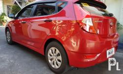 2015 Hyundai Accent  CRDi Automatic (Diesel) Veloster Red Good as New