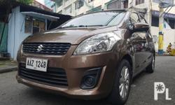 2015 Suzuki Ertiga GL  Automatic  1.4L 19k mileage All original all stock Cold AC  TV with Original Pioneer 2din MIXTRAX Good for Family Daily Car 7 Seater Good Condition  Ready for long drive  All tires are good as new Complete legal papers ready for