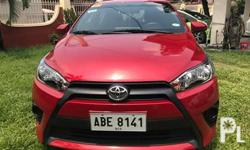 2015 Toyota Yaris 2015 Toyota Yaris 1.3 E Original mica red paint Super fresh No issues Like brand new Never flooded and No accident