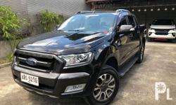 2016 Ford Ranger WILDTRAK Automatic 2.2L 4x2 Current ODO: 31,000 Very Powerful Turbo Diesel Engine yet fuel efficient Fresh Exterior / Interior Very Neat & smooth Exterior Body (Black Pearl Mica) Well maintained Both Engine & Suspension are in Pristine