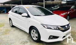 2017 HONDA CITY 1.5E AUTOMATIC Guaranteed not tampered or money back!) with ECO mode All Original All Power Keyless Entry / Alarm SRS Air Bags ABS Brakes CD, MP3, USB, AUX, iPOD Stereo w/ Daylight Running Lights (original) w/ Manual & Service Records