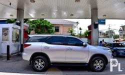 2017 Toyota Fortuner Brand:Toyota  Model:Fortuner  Year of manufacture:2017  Condition:Used  Transmission:Automatic  Mileage:10,000  Color:Silver  Body type SUV / MPV