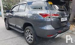2018 Fortuner 2.4 V A/T 4X2 27.+++km Mileage Silver Metallic Color Blackseries (Last batch) Luxurious Black interior With GPS Navi Good as new! Smells new Complete Owners Manual Booklet Registered 2018-2019 Complete Legal Papers