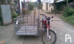 FOR SALE!!!! 2nd Hand Kolong-Kolong Sidecar with RS100 yamaha Motorcycle!!! Php. 15,000.00 Call # 09323778784