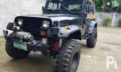 Brand new tires maxxis 35 inch, ARB front lockers, newly installed 4m40 diesel engine. Brand new warn winch 10,000 kilos. Newly upholster recaro seats both front and back.newly installed best top fr US . Newly painted under chassis, interior and floors