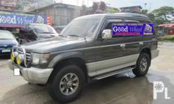 Gawin: Mitsubishi Taon: 1996 Uri ng sasakyan: Sport Utility Vehicle (SUV) Kondisyon: Gamit na - Mileage: Around 111T KMS - 4D56 TURBO DIESEL Intercooler Engine - Exceed Body - All Power - Automatic Transmission (Smooth Shifting) - Strong Wrap Around