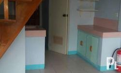Not furnished; Two bedrooms; up and down. With service area at the back. Conveniently located; flood-free; Few blocks away from Jaro Town Square Quintin Salas (with Savemore/Jollibee/ Mandawe across GMA/near 7eleven); Parking fee: additional P500/mo (one