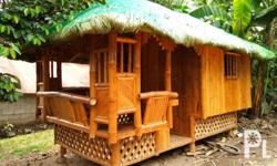 Norma's Bamboo Furniture Store Address: No. 62 J.P. Rizal Street, Bgy. Dela Paz, Antipolo City (very near Antipolo Simbahan) Bahay Kubo (Nipa Hut) for Sale Size: 6ft x 12 ft With one room, kitchen sink and receiving area We require 50% downpayment upon