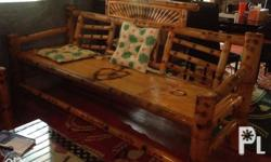 Bamboo Furniture For Sale!!! 1 pc TV stand 1 pc bamboo sofa 4 pcs single chair All in 1 For 3,000 For pick up in Ma.Clara, Maasin Pls contact Interested in this ad? You may inquire by clicking on any of the available contact buttons on this page. For
