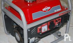 Briggs & Stratton Portable Generator SL1500 Copper Wiring Original Briggs & Stratton Gasoline Generator Powered by an elite class 98cc OHV Engine with Cast Iron Bore, the 1KW portable generator provides unbeatable power whether it's for home, business, or