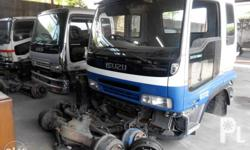 """Cabin Cowl """"ulo"""" READ Ad 1. Isuzu Forward FRR STD A/T shifter - 220k """"white/blue"""" 2. Isuzu Forward FTR 8hole - 290k 3. Isuzu Forward FRR STD - 240k """"Blue"""" 4. Isuzu Forward FRR Wide - 260k """"white"""" *under chassis parts not included in price. JAPAN Surplus"""