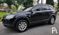 Chevrolet Captiva 2011 VCDI Automatic Selling Price - P 80,000 Variant: 2.0 VCDI 4x2 Mileage: 158,000 KM Transmission: Automatic Engine Condition: 10/10 Exterior Condition: 10/10 Interior Condition: 10/10 Tires: 90% Fuel: Diesel 100% Flood free 100%