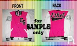 CUSTOMIZED YOUR OWN VARSITY JACKETS! WITH OR WITHOUT HOODIE SEND YOUR CHOSEN OR YOUR OWN DESIGNS --->Generate your design here: http://www.varsityapparel.com.au/Design-Your-Own-Jacket How to design your jacket 1. Go