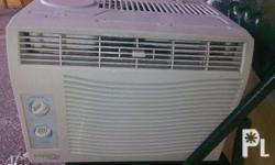 Everest ET05WD 0.5HP Window Type AirCon P 3,000 (FIXED PRICE) Capacity(HP): 0.5 HP Cooling Capacity(kj/h): 5,300 EER: 10.4 Power Input(W): 521W Floor area(sq.m): 8 below Power Source(V): 220V/60Hz Running Current(Amp): 2.3 Dimension (WxHxD)mm:400x305x355