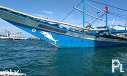 """fishing boat, """"pangulong"""" 60feet long hardwood built in Mansalay Oriental Mindoro, Marina and BFAR registered, Launched in august 2016, with Isuzu diesel engine 6BG1,"""