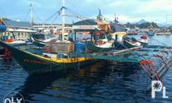 Fishing boat With fishing documents,,, 50 blocks ice 6BB1 engine 10 pakura with engine 1st owner 3years operation