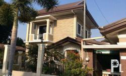 Fully furnished bungalow apartment at P18,000 per month + utility charges (elect. & water bills + gas). 1/ Ground floor living, dining, kitchen, toilet & bath with service area for hanging laundry. With living room sofa, flat LED TV with free cable