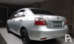 Toyota Vios 1.3 J 2011 Year 59,000 km mileage 1.3L Engine Gas Fuel Manual transmission Air Conditioning Power Steering Remote Keyless Entry Leather Interior Air Bags Alarm AM/FM Radio CD Player 2011 Toyota Vios 1.3 J MT 59tkm complete manuals and booklets