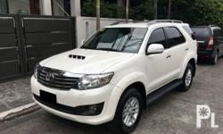 Toyota Fortuner 2014 Year 66,000 km mileage 0.0L Engine Diesel Fuel Automatic transmission 2014 Toyota Fortuner 2.5V AT Diesel 4x2