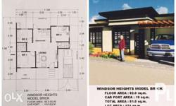 WINDSOR HEIGHTS SUBDIVISION Mabuhay Road, General Santos City model BRICK: Lot area: 121sqm Total floor area: 80sqm Bungalow type, 3 bedrooms and 2 bathrooms Reservation Fee: P10,000 Processing Fee: P10,000 (upon reservation) 10% Downpayment : P199,000