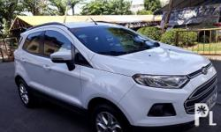 Ford EcoSport 2014 Manual  Used for sale. The Ford EcoSport runs on Gasoline and has a promo price of PHP150000. You will be hard pressed to find better value for your money elsewhere. This is a bargain you cannot afford to miss, so get in touch today.
