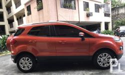 FORD ECOSPORT 2015 TITANIUM A/T Automatic Diesel Color Family Orange Doors 5 Drive Type Front wheel drive Edition TITANIUM etc...
