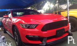 Ford Mustang body kit 2015 to present year model Includes: front skirt, rear skirt, body paint Free installation! Visit our showroom: Roosevelt ave QC Look for MAM TIN
