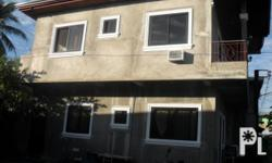 newly constructed house 2 floors 4 bedroom 2 cr, 1 with bath tub dining, sala, kitchen, dirty kitchen and terrace gate and garage 53smq floor area 98sqm land area NEGOTIABLE with terms to pay Payable in 6months 500,000 down payment w/ CONDITIONAL DEED OF