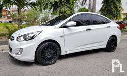 Hyundai Accent 2014 Gas Automatic Variant: 1.4 CVT Milage: 45,000 KM Transmission: Automatic Engine Condition: 10/10 Exterior Condition: 10/10 Interior Condition: 10/10 Tires: 90% Fuel: Gas 100% Flood free 100% Accident free  -All Original -Complete