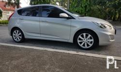 Hyundai Accent Hatchback 2013 Automatic Diesel Variant: 1.6 CRDI Top of the Line Mileage: 50,000 KM Transmission: Automatic Engine Condition: 10/10 Exterior Condition: 10/10 Interior Condition: 10/10 Tires: 95% Fuel: Diesel 100% Flood free 100% Accident