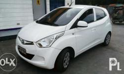 FOR ASSUME!!! NO NEED BANK APPROVAL!!! Hyundai Eon 2016 GLX M/T 0.8L engine. P115k NEGOTIABLE Already Paid P140K to Bank of Commerce. Monthly Amortization: P10,800 (reduction of monthly payment available) GOOD AS BRAND NEW!!! SUPER FRESH IN AND OUT!!!
