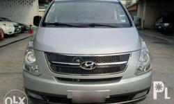 *** hyundai grand starex *** - 2008 model - vgt - crdi - diesel - automatic - casa maintained - 5 ending plate - fresh in and out - Php. 668,000