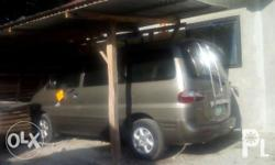 hyundai starex in good running condition manual transmision regesterd good ingine cool ac good tire ready to long drive complet legal papers call dis no.for fast transaction sero nine sero seven tree seven sero five eight two five negotiable upon