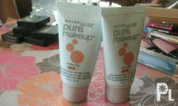 MAYBELLINE PURE MAKE UP! SHADES: MEDIUM BIEGE,HONEY BIEGE! BUY ONE TAKE ONE FOR ONLY450! FOR MORE DETAILS CALL/TEXT:09228755538.