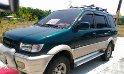 Repriced to 330k, must go Isuzu Crosswind 2002 Manual trans 4JA1 Diesel Engine, Good running condition power window, lock, steering JVC Sterio with Aux In, Cold Dual Aircon, Top load Orig paint Green Low mileage 98t km orig Low Diesel consumption rate