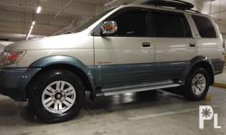 Isuzu Crosswind XUV 2010  Limited Edition Automatic  Smooth Shifting Superb Engine Condition No Engine Leak All power 3M Full tint Original Paint Cool Aircon Low odo Fresh in n out W/ Top Load Step Board Registered