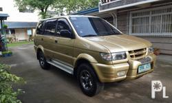 Isuzu crosswind xuvi Manual transmission 2003 model 1st owned low mileage All leather are all intact and preserve well kept and maintained Top engine condition  Very low mileage. 95% thick michellin tires All original parts and accessories Rare unit and
