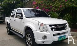 2013 ISUZU D-MAX LS  4x4 Manual Transmission Top of the Line Diesel 3.0 Turbo Genuine Leather All Power All Original No Accidents Fresh In and Out