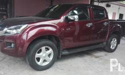 For Sale:  Mileage 28k Isuzu Dmax Ls 4x4 2014modelEngine DieselManual transmissionLCD monitor with gps Leather seatsStrong enginepowerful pick-up All power, /All Stock/4new tireSolid SuspensionVery Fresh in and outGood Running ConditionCool dual