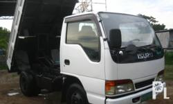 Kondisyon: Gamit na For sale Isuzu Elf Mini dump truck 4HF1 GIGA Type P0werful Engine Very Strong Aircon Well Maintained Japan Surplus Acquired fr Subic Ready to used 6mos used only Pls contac 09228261212 and 09174272940