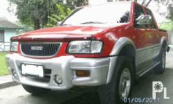 Description Make: Isuzu Mileage: 96,000 kilometers Year: 2001 Type of car: Pickup Trucks Condition: Used 2001 isuzu Fuego Sport M/T 4 wheel drive 2.8 Diturbo 95K km All power Cool Aircon Oem leather Seats With Bedliner Lifted Step-up rail cd-usb-sd-mmc
