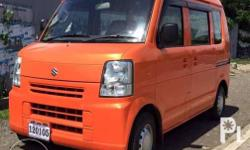 New arrival Japan Surplus Suzuki Every Never been used in Philippines. Buyer will be 1st owner. 12 valves 660cc Multicab Fuel efficient Automatic Transmission Power Steering Air conditioned Brandnew battery Choose your own color. Free Online LTO