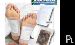 Deskripsiyon KINOKI CLEANSING DETOX FOOT PADS How does this work? KINOKI CLEANSING DETOX FOOT PADS (As Seen On Tv) BENEFITS: -Relieve backaches and headaches with detox foot pads -Help a fatigue or weak immune system -Uses tree extracts and powerful